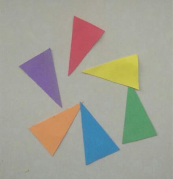 儿童手工diy粘贴画小花伞的详细制作教程